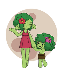 Sisters of Cacti by UsaRitsu