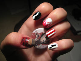 Sweeney Todd nails by WaterLily-Gems