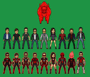 Red Lantern Corps by Naps137