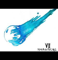 Final Fantasy VII Logo by goodsnake
