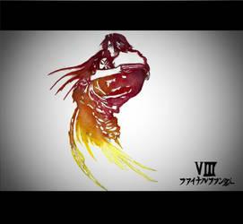 Final Fantasy VIII Logo by goodsnake