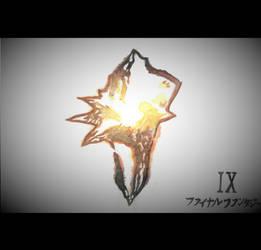 Final Fantasy IX Logo by goodsnake