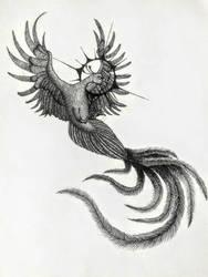Black Phoenix by ginnunga-gap