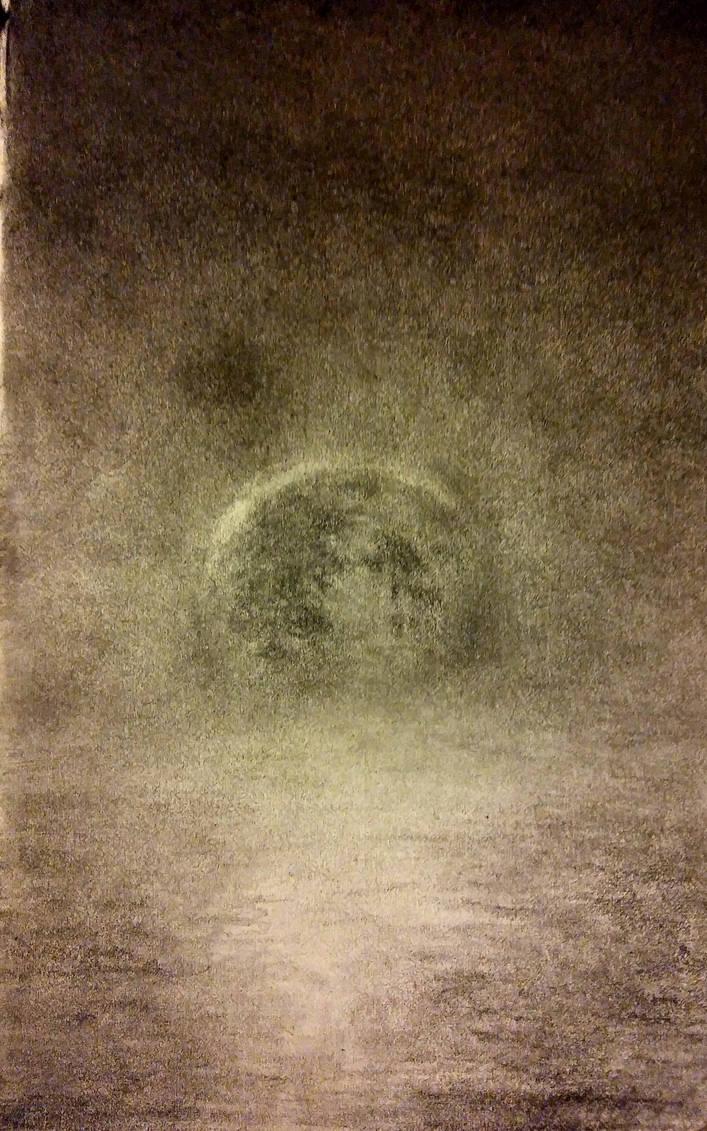 Moonrise by ginnunga-gap