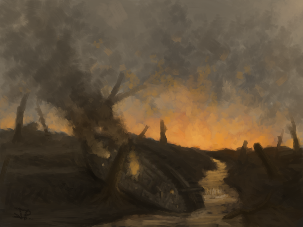 Scorched Earth by ginnunga-gap
