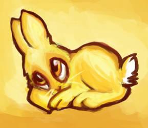 Fire Rabbit by jaz-lyn