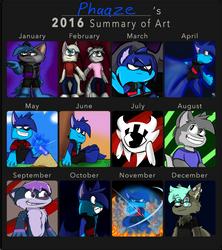 2016 Art Summary by TranquilZones