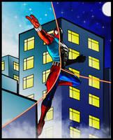 Spider Man - Scarlet, Symbiote, Original by DevilKazz