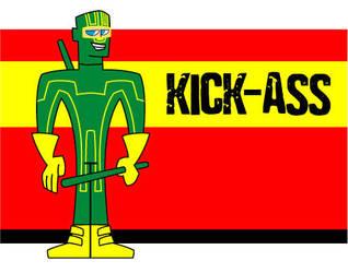 KICK-ASS Animated Style by nviii-Surberus