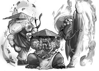 WoW RPG - Transcendent Pandas by UdonCrew