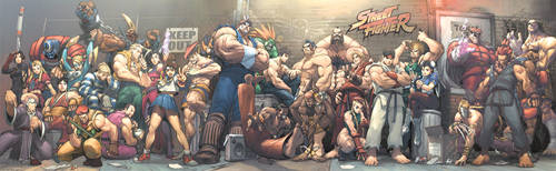 Street Fighter Street Jam by UdonCrew