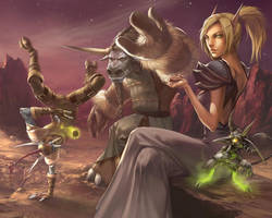 WoW TCG - Break In The Action by UdonCrew