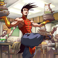 UFS - At the Restaurant by UdonCrew