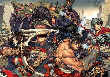 Soul Calibur IV Premium Comic by UdonCrew