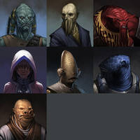 KoTOR- Races by UdonCrew