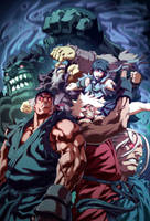 Street Fighter IV 3B by UdonCrew