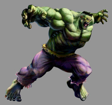 Marvel VS Capcom 2: Hulk by UdonCrew