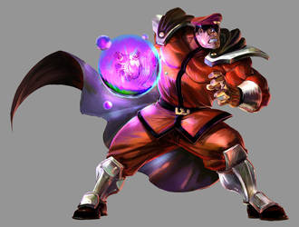 Marvel VS Capcom 2: M Bison by UdonCrew