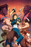 SF Legends Chun-Li 4B by UdonCrew