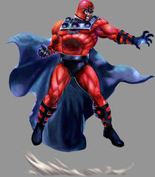 Marvel VS Capcom 2: Magneto by UdonCrew