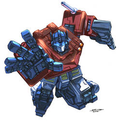 CCE - Optimus Prime by UdonCrew