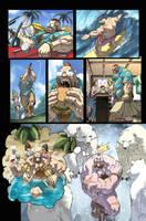 Fighting Evolution- ZANGIEF by UdonCrew
