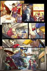 Fighting Evolution- YUN by UdonCrew