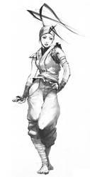 Ibuki Sketch by UdonCrew