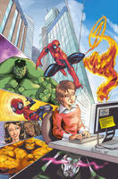 Marvel Wired Cover Image by UdonCrew