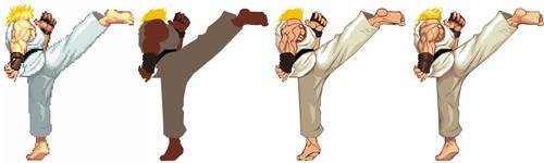 Street Fighter HD - Ken Kick by UdonCrew