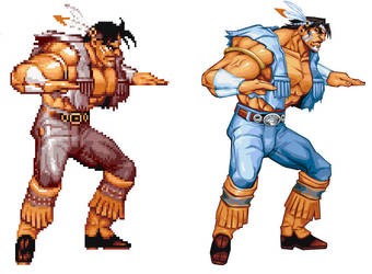 Street Fighter HD - T Hawk by UdonCrew