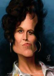 Sigourney Weaver by David-Duque