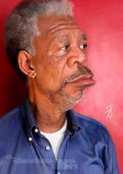 Morgan Freeman by David-Duque