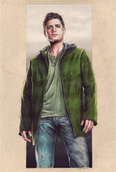 Jensen Ackles as Dean Winchester from Supernatural by Carella-Art