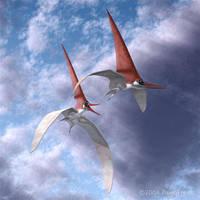 Nyctosaurus by PaleoFreak