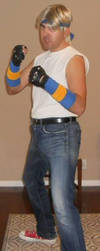 Axel Stone STREETS OF RAGE 1 cosplay 2 by IronCobraAM