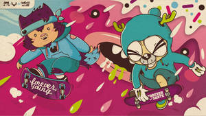 forever young forever skate by NOF-artherapy