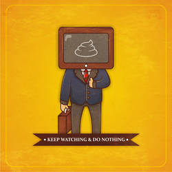 keep watching and do nothing by NOF-artherapy