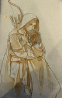 Beleg and Turin by luthienelf