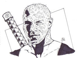 Ryan Reynold as Deadpool by CaptainSnikt