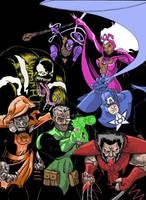 Marvel Lanterns Coloured by CaptainSnikt