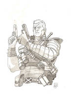 Cable Sketch by CaptainSnikt
