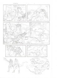 Ghostbusters page 2 by CaptainSnikt