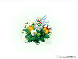 Tic Tac's advertising by cortezART