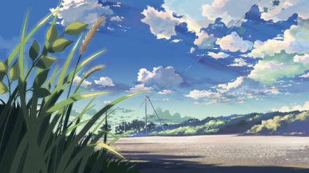 49143 Anime Scenery Anime Nature by GMAGames