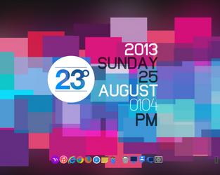 Flat Desktop :D by metrolover01