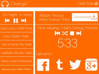 Main Interface of Orange by metrolover01