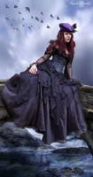 Her dark world by Ioneek