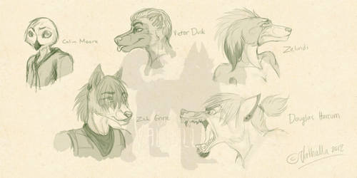 Sketches by EscapingValhalla