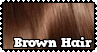 Brown Hair - Stamp by Starrtoon